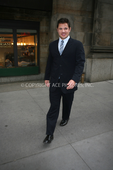 WWW.ACEPIXS.COM ** ** ** ....January 22nd, 2007, New York City. ....Cosmopolitan Honors Nick Lachey as Fun Fearless Man of the Year at Cipriani. ....Please byline: Philip Vaughan -- ACEPIXS.COM.. *** ***  ..Ace Pictures, Inc:  ..Philip Vaughan (212) 243-8787 or (646) 769 0430..e-mail: info@acepixs.com..web: http://www.acepixs.com
