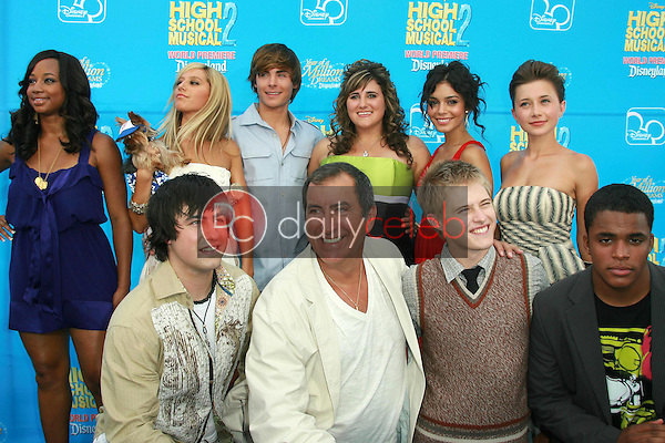 The Cast of &quot;High School Musical 2&quot;<br />