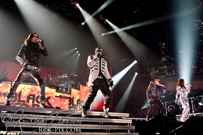 Black Eyed Peas perform at Mohegan Sun Casino on February 27, 2010