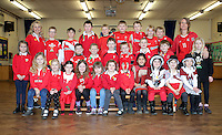 St David's Day, Year 3, at Newton Primary School in Swansea, Wales, UK. Wednesday 01 March 2017