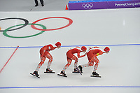 OLYMPIC GAMES: PYEONGCHANG: 19-02-2018, Gangneung Oval, Long Track, Team Pursuit Ladies, Team Poland, ©photo Martin de Jong