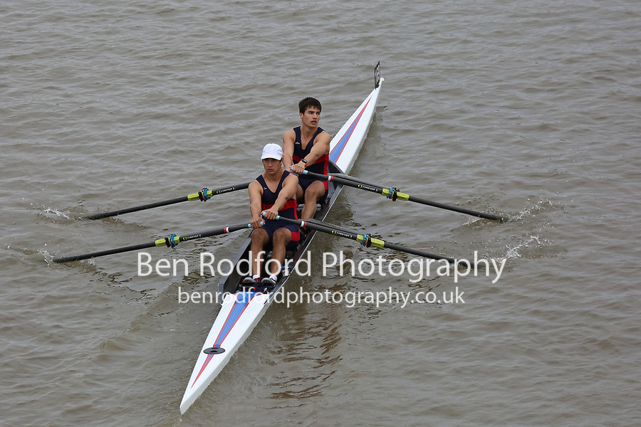 Crew: 169   KCS-LAWACZECK    Kings College School Boat Club    Op J18 2x Fresher <br /> <br /> Pairs Head 2017<br /> <br /> To purchase this photo, or to see pricing information for Prints and Downloads, click the blue 'Add to Cart' button at the top-right of the page.