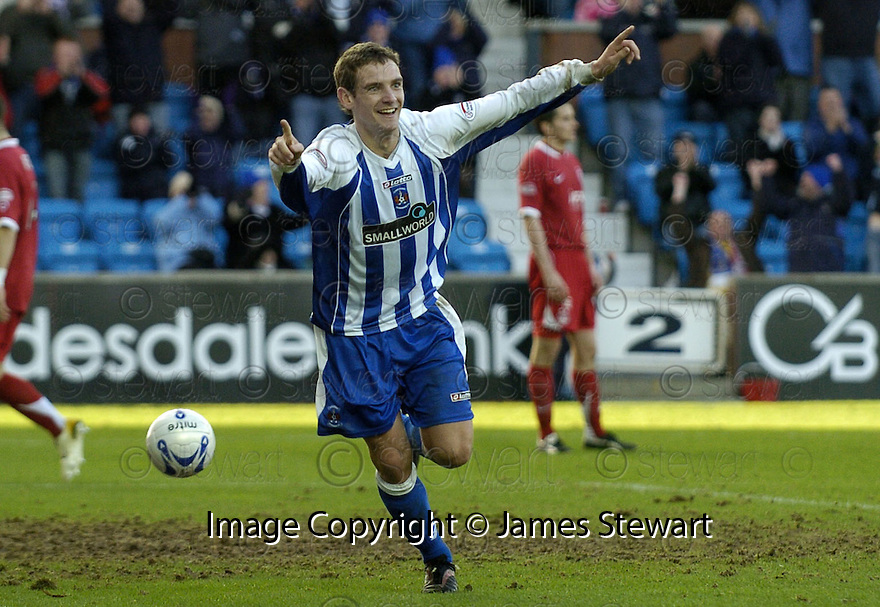24/02/2008    Copyright Pic: James Stewart.File Name : sct_jspa18_kilmarnock_v_aberdeen.CRAIG BRYSON CELEBRATES AFTER HE SCORES THE THIRD.James Stewart Photo Agency 19 Carronlea Drive, Falkirk. FK2 8DN      Vat Reg No. 607 6932 25.Studio      : +44 (0)1324 611191 .Mobile      : +44 (0)7721 416997.E-mail  :  jim@jspa.co.uk.If you require further information then contact Jim Stewart on any of the numbers above........