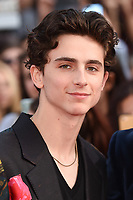 "LONDON, UK. October 13, 2018: Timothee Chalamet at the London Film Festival screening of ""Beautiful Boy"" at the Cineworld Leicester Square, London.<br /> Picture: Steve Vas/Featureflash"