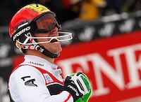 ZAGREB, CROACIA, 06 JANEIRO 2013 - COPA DO MUNDO DE ESQUI ALPINO - O competidor Marcel Hirscher da Austria vencedor da prova de Slalom Gigante para homens durante a Copa do Mundo de Esqui Alpino em Zagreb na Croacia, neste domingo, 06/01/2013. (FOTO: PIXATHLON / BRAZIL PHOTO PRESS).