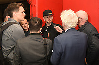 George Groves speaks to the press during a Media Workout at Dale Youth ABC on 10th October 2017