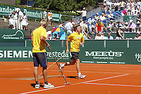 16-7-06,Scheveningen, Siemens Open,  finals, court maintenance
