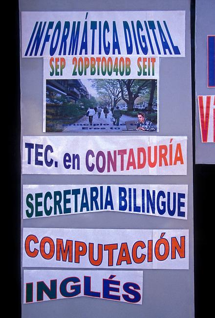 Information, Oaxaca, Oaxaca State, Mexico, North America