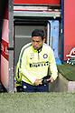 "Yuto Nagatomo (Inter), APRIL 19, 2015 - Football / Soccer : Italian ""Serie A"" match between Inter Milan 0-0 AC Milan at Stadio Giuseppe Meazza in Milan, Italy. (Photo by Enrico Calderoni/AFLO SPORT)"
