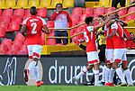 Independiente Santa Fe venció 2-0 a Independiente Medellín. Fecha 9 Liga Águila II-2019.