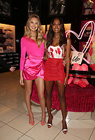 Victoria's Secret Angels Jasmine Tookes And Romee Strijd Celebrate Valentines Day