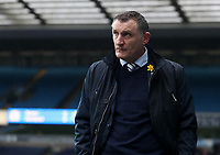 Blackburn Rovers manager Tony Mowbray <br /> <br /> Photographer Rachel Holborn/CameraSport<br /> <br /> The EFL Sky Bet League One - Blackburn Rovers v Blackpool - Saturday 10th March 2018 - Ewood Park - Blackburn<br /> <br /> World Copyright &copy; 2018 CameraSport. All rights reserved. 43 Linden Ave. Countesthorpe. Leicester. England. LE8 5PG - Tel: +44 (0) 116 277 4147 - admin@camerasport.com - www.camerasport.com