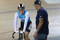 Angus Classen of West Coast North Island after competing in the U17 sprint final at the Age Group Track National Championships, Avantidrome, Home of Cycling, Cambridge, New Zealand, Friday, March 17, 2017. Mandatory Credit: © Dianne Manson/CyclingNZ  **NO ARCHIVING**