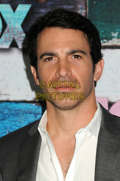 Chris Messina.Fox All-Star Party - Summer 2012 held at Private Location, West Hollywood, California, USA..July 23rd, 2012.headshot portrait white grey gray stubble facial hair .CAP/ADM/BP.©Byron Purvis/AdMedia/Capital Pictures.