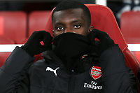 Eddie Nketiah of Arsenal, was named as a substitute during Arsenal vs Rennes, UEFA Europa League Football at the Emirates Stadium on 14th March 2019