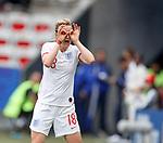 09.06.2019 England v Scotland Women: Ellen White celebrates her goal for England