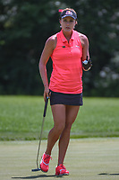 Lexi Thompson (USA) after sinking her putt on 11 during round 1 of the 2018 KPMG Women's PGA Championship, Kemper Lakes Golf Club, at Kildeer, Illinois, USA. 6/28/2018.<br /> Picture: Golffile | Ken Murray<br /> <br /> All photo usage must carry mandatory copyright credit (&copy; Golffile | Ken Murray)