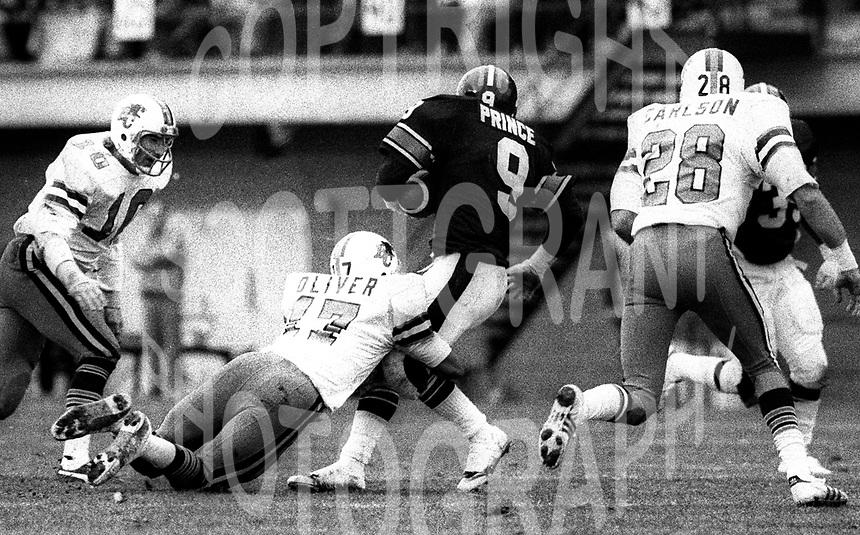 John Beaton BC Lions 1979. Photo F. Scott Grant