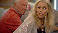 Celebrity Big Brother 2017<br /> Derek Acorah, Amelia Lily<br /> *Editorial Use Only*<br /> CAP/KFS<br /> Image supplied by Capital Pictures