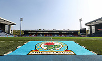 A general view of the Ewood Park stadium <br /> <br /> Photographer Andrew Kearns/CameraSport<br /> <br /> The EFL Sky Bet Championship - Blackburn Rovers v Bolton Wanderers - Monday 22nd April 2019 - Ewood Park - Blackburn<br /> <br /> World Copyright © 2019 CameraSport. All rights reserved. 43 Linden Ave. Countesthorpe. Leicester. England. LE8 5PG - Tel: +44 (0) 116 277 4147 - admin@camerasport.com - www.camerasport.com