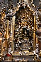 Prager Jesulein in der Kirche Maria Victoria, Prag, Tschechien, Unesco-Weltkulturerbe