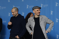 www.acepixs.com<br /> <br /> February 10 2017, Berlin<br /> <br /> (L-R) Jonny Lee Miller, Anjela Nedyalkova and Ewen Bremner at the 'T2 Trainspotting' photo call during the 67th Berlinale International Film Festival Berlin at Grand Hyatt Hotel on February 10, 2017 in Berlin, Germany.<br /> <br /> By Line: Famous/ACE Pictures<br /> <br /> <br /> ACE Pictures Inc<br /> Tel: 6467670430<br /> Email: info@acepixs.com<br /> www.acepixs.com