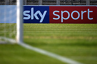 Sky Sport banner seen during the Women Italy cup round of 8 second leg match between AS Roma and Roma Calcio Femminile at stadio delle tre fontane, Roma, February 20, 2019 <br /> Foto Andrea Staccioli / Insidefoto