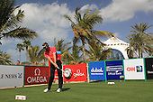 Raphael Jacquelin (FRA) tees off the 13th tee during Sunday's Final Round of the 2013 Omega Dubai Desert Classic held at the Emirates Golf Club, Dubai, 3rd February 2013..Photo Eoin Clarke/www.golffile.ie