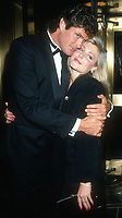 David Hasselhoff and wife<br /> 1990s<br /> Photo By Michael Ferguson/CelebrityArchaeology.com