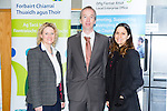 """NEKD Cantillon 2015 -the ITT """"Bringing it all Back Home - Bridging the Gap between Research and Practice"""" at the IT Tralee N.Campus on Friday pictured Martha Phelan (Researcher the Kane centre UCC),Victor Sheehan (Kerry local Enterprise office) and Laura Aguiar (Post Doctor Researcher at the Kane centre UCC)"""