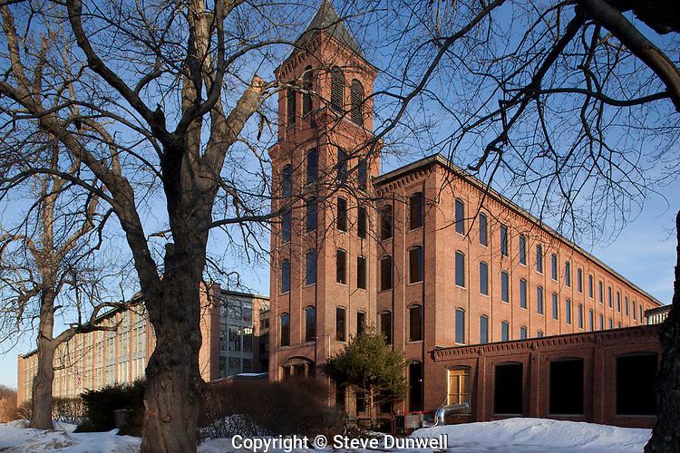 Lancaster Mills, Clinton, MA textile, now apartments