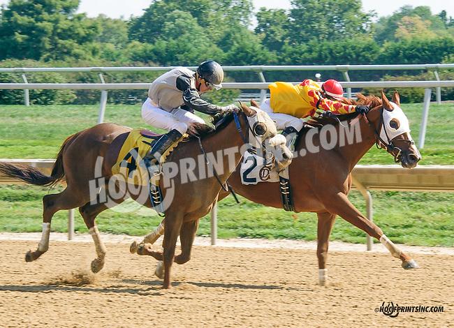 Ira winning at Delaware Park on 9/19/15