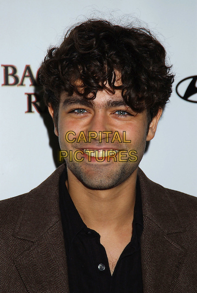 ADRIAN GRENIER.Movieline's Hollywood Life Honors 2004 Breakthrough Awards held at the Henry Fonda Music Box Theatre. .December 12th, 2004.headshot, portrait, stubble, facial hair.www.capitalpictures.com.sales@capitalpictures.com.© Capital Pictures.
