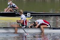 Sarasota. Florida USA.  Bronze Medalist. DEN W2- Bow.  Hedvig<br /> RASMUSSEN and Christina JOHANSEN, Final A. 2017 World Rowing Championships, Nathan Benderson Park<br /> <br /> Saturday  30.09.17   <br /> <br /> [Mandatory Credit. Peter SPURRIER/Intersport Images].<br /> <br /> <br /> NIKON CORPORATION -  NIKON D500  lens  VR 500mm f/4G IF-ED mm. 250 ISO 1/1250/sec. f 7.1.