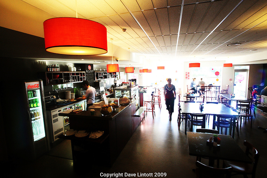 .Huckle Berry Cafe, Northland, Wellington..Photo: Dave Lintott