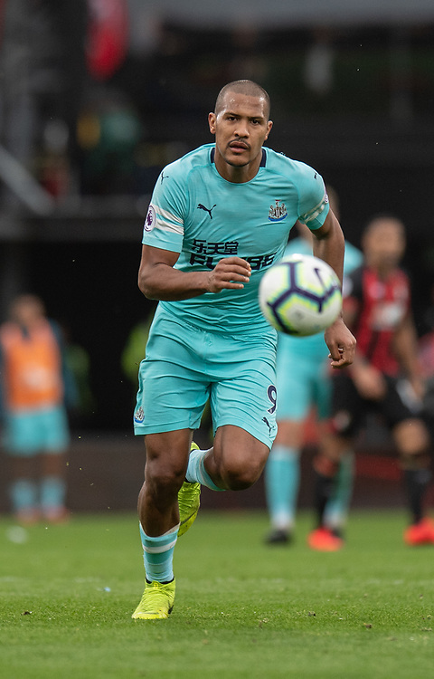 Newcastle United's Jose Salomon Rondon <br /> <br /> Photographer David Horton/CameraSport<br /> <br /> The Premier League - Bournemouth v Newcastle United - Saturday 16th March 2019 - Vitality Stadium - Bournemouth<br /> <br /> World Copyright © 2019 CameraSport. All rights reserved. 43 Linden Ave. Countesthorpe. Leicester. England. LE8 5PG - Tel: +44 (0) 116 277 4147 - admin@camerasport.com - www.camerasport.com