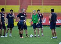 US Men's National Team Stadium Training prior to FIFA World Cup qualifiers USA vs El Salvador at Estadio Cuscatlán Stadium  on March 27, 2009.