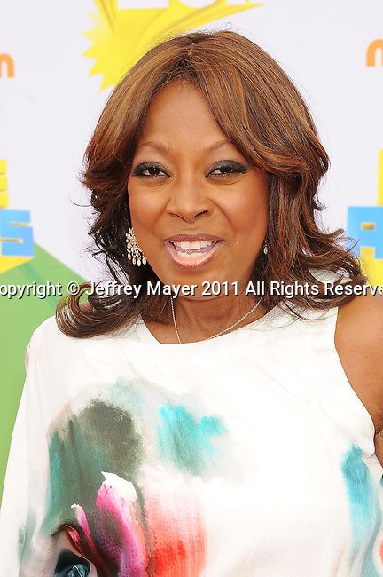 LOS ANGELES, CA - APRIL 02: Star Jones arrives at Nickelodeon's 24th Annual Kids' Choice Awards at Galen Center on April 2, 2011 in Los Angeles, California.