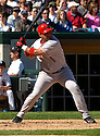 Bengie Molina of the Los Angeles Angels in action against the Chicago White Sox. ....Angels lost 4-5.....David Durochik / SportPics..