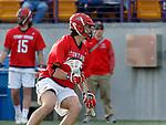 UAlbany Men's Lacrosse defeats Stony Brook on March 31 at Casey Stadium.  Owen Daly (#16).