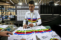 Picture by Alex Whitehead/SWpix.com - 03/03/2017 - Cycling - UCI Para-cycling Track World Championships - Velo Sports Center, Los Angeles, USA - Christopher Murphy