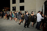 Guest wait in line at the Married to Medicine Houston premier party at VrSi Thursday Nov. 10, 2016.(Dave Rossman photo)