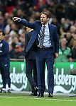 England's Gareth Southgate in action during the friendly match at Wembley Stadium, London. Picture date November 15th, 2016 Pic David Klein/Sportimage