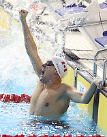 Toronto, Ontario, August 10, 2015. Adam Rahier competes in swimming during the 2015 Parapan Am Games . Photo Scott Grant/Canadian Paralympic Committee