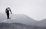 16 January 2009: Alla Tsuper from Belarus performs aerial acrobatics during the FIS Freestyle World Cup warm-ups at the Olympic Ski Jumping Facility in Lake Placid, NY, USA. Mandatory Photo Credit: Ed Wolfstein Photo. Contact: Ed Wolfstein, Burlington, Vermont, USA. Telephone 802-864-8334. e-mail: ed@wolfstein.net