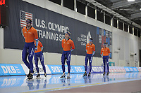 SPEEDSKATING: SALT LAKE CITY: 07-12-2017, Utah Olympic Oval, training ISU World Cup, ©photo Martin de Jong