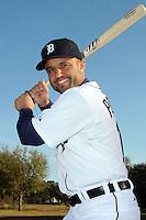 Feb 21, 2009; Lakeland, FL, USA; The Detroit Tigers infielder Placido Polanco (14) during photoday at Tigertown. Mandatory Credit: Tomasso De Rosa/ Four Seam Images
