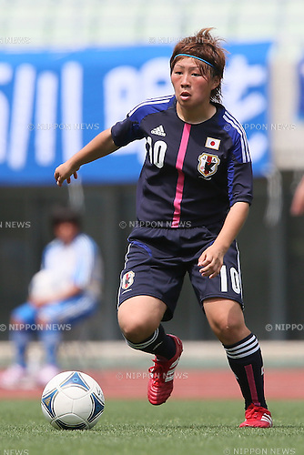 Kumi Yokoyama (JPN), .JUNE 17, 2012 - Football / Soccer : .Women's International Friendly match between U-20 Japan 1-0 U-20 United States .at Nagai Stadium, Osaka, Japan. (Photo by Akihiro Sugimoto/AFLO SPORT) [1080]