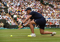 Wimbledon, 2/7/2014<br /> <br /> Ball boys<br /> <br /> <br /> &copy; Ray Giubilo/ Tennis Photo Network