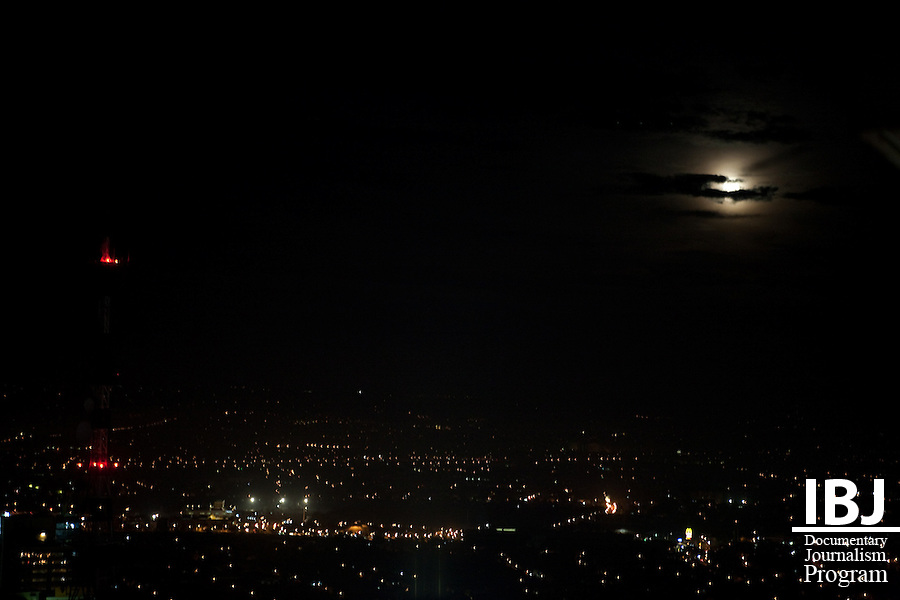 Nighttime in Manila, 2009.
